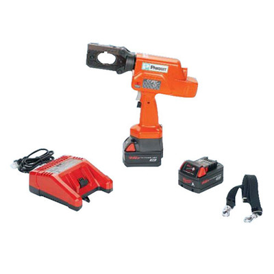 Panduit CT-2001 Panduit CT-2001 Powered Hydraulic Die Type Crimping Tool With Closed Head; Lithium-Ion 18 Volt DC Rechargeable, 13.130 Inch Length x 3 Inch Width x 12.750 Inch Height, 120 Volt AC