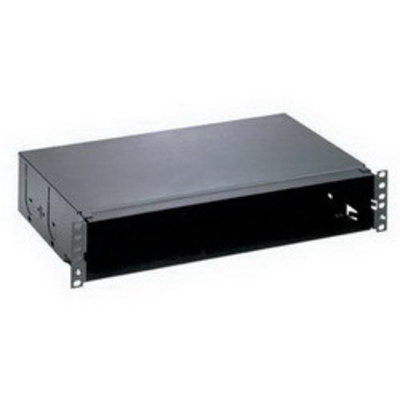 Panduit FMT2 Panduit FMT2 Opticom® Fiber Tray; Rack Mount, 2-Rack Unit, Black