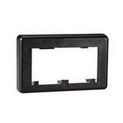 Panduit MFFPEEI Panduit MFFPEEI Mini-Com® 1-Gang Standard Faceplate; Plastic, Electric Ivory