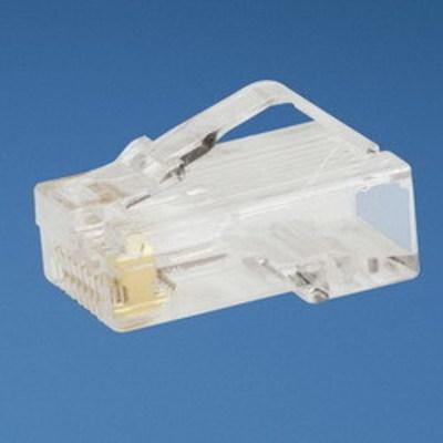 Panduit MP588-M Panduit MP588-M Standard Category 5e RJ45 Modular Plug; 8P8C, Clear