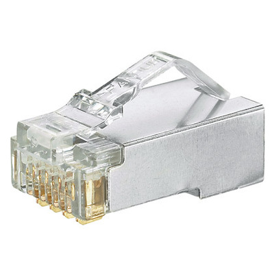 Panduit MPS588-C Panduit MPS588-C Standard Category 5e RJ45 Modular Plug; 8P8C, Clear