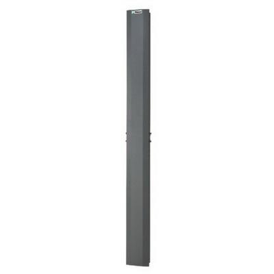 Panduit NFD884 Panduit NFD884 Netframe Full Length 4-Post Dual-Hinged Door; 45-Rack Unit, Black