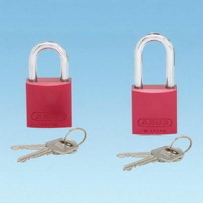 Panduit PSL-6-LS Panduit PSL-6-LS Safety Padlock; Laminated Steel Body, Red