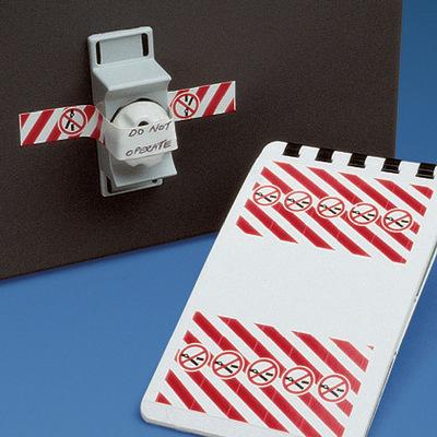 Panduit PSL-CBWL Panduit PSL-CBWL Pre-Printed Warning Label; 4.840 Inch Width x 0.540 Inch Height, Vinyl, White