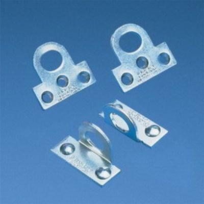 Panduit PSL-PE1 Panduit PSL-PE1 Angled Padlock Eye; 0.13 Inch Hard Wrought Steel
