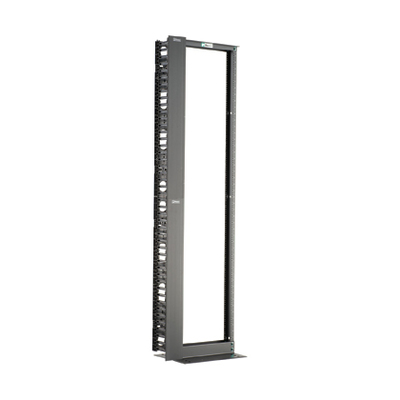Panduit RWMPVF45E Panduit RWMPVF45E Threaded Equipment Mounting Rail with Front Manager; 25.5 Inch x 84 Inch x 15 Inch