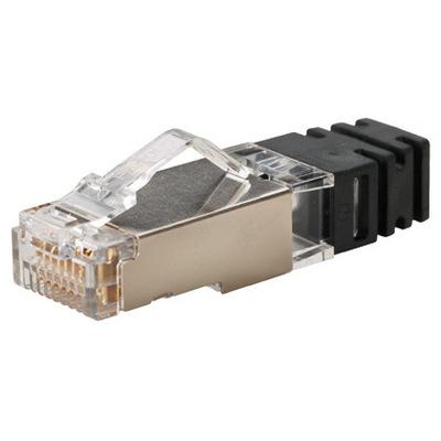 Panduit SPS688-C Panduit SPS688-C Standard Category 6 Modular Plug; 8P8C, Transparent, 100/Pack