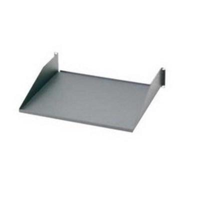 Panduit SRM19FM2 Panduit SRM19FM2 19 Inch Front Mount Keyboard Shelf; 19 Inch Width x 15.2 Inch Depth x 3.5 Inch Height, Steel, Black