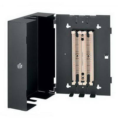 Panduit WMCPEPPBL Panduit WMCPEPPBL Pan-Punch™ Punchdown Consolidation Point Enclosure; Wall Mount