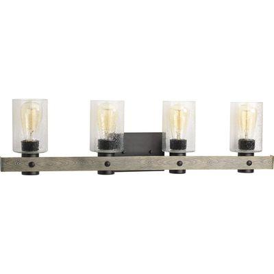 Progress Lighting P300126-143 P300126-143 PROGRESS GULLIVER 4-60W MED BATH BRACKET GY