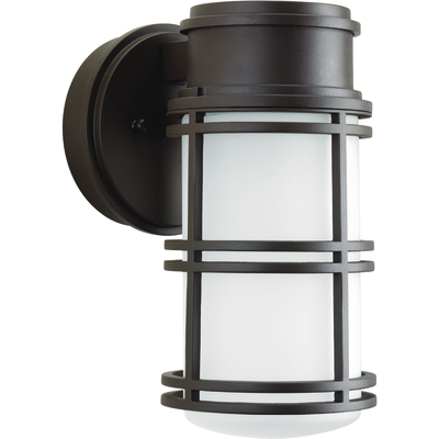 Progress Lighting P5676-2030K9 P5676-2030K9 PROGRESS 1-9W 3000K LED WALL LANTERN ABZ