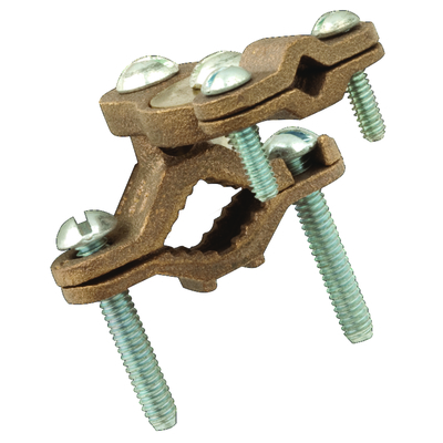 RACO 2508 2508 RACO GROUND CLAMP 1-1/4 - 2 IN PIPE 6-10AWG