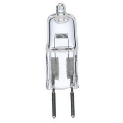 Satco S1987 Satco S1987 Halogen Lamp; 50 Watt, 99 CRI, Bi-Pin (GY6.35) Base, 2000 Hour Life, Clear