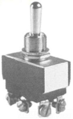 Selecta Switch SS208D-BG Selecta Switch SS208D-BG Toggle Switch Dpst OnOff 15 Amp 125VAC Screw Term 1532 Dia Bushi