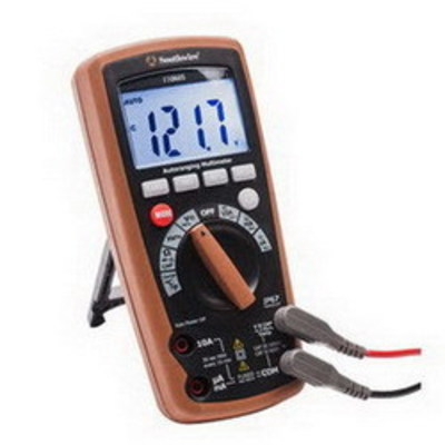 Southwire 11060S Southwire 11060S Auto-Ranging Multimeter IP67 CAT IV; 5 Mega-Hz, Dustproof & Waterproof, 11 Functions