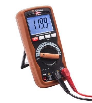 Southwire 58290640 Southwire 11050N Non-Contact Auto-Ranging Multimeter; 600 Volt AC, 600 Volt DC, 100 - 600 Volt AC Non-Contact, 10 Amp AC/DC, 60 mega-ohm