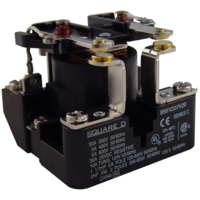 Square D by Schneider Electric 8501CDO7V51 8501CDO7V51 SQD RELAY 600VAC 5AMP T