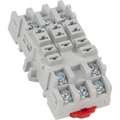 Square D by Schneider Electric 8501NR82 Schneider Electric 8501NR82 Square D Relay Socket, 600 V, 10 Amp