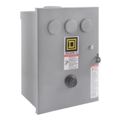Square D by Schneider Electric 8536SCH3V08 8536SCH3V08 SQD STARTER 600VAC 27AMP NEMA +OPTIONS
