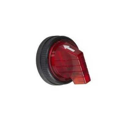 Square D by Schneider Electric 9001R8 Schneider Electric 9001R8 30MM Short Handle For Selector Sw Red