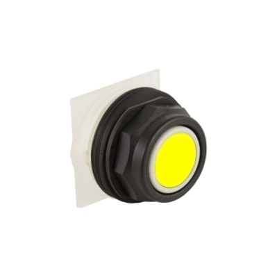 Square D by Schneider Electric 9001SKR1YH13 9001SKR1YH13 SQD PUSHBUTTON 600VAC 10AMP 30MM SK OPTIONS