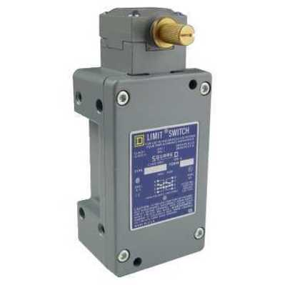 Square D by Schneider Electric 9007CR65A2 9007CR65A2 SQD 9007CR limit switch - 2 NO/NC 2 stage - rotary head - CW+CCW - low differential