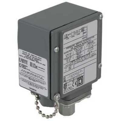 Square D by Schneider Electric 9012GAW4G21H11 9012GAW4G21H11 SQD pressure switch 9012G - adjustable scale - 2 thresholds - 1.5 to 75 psig