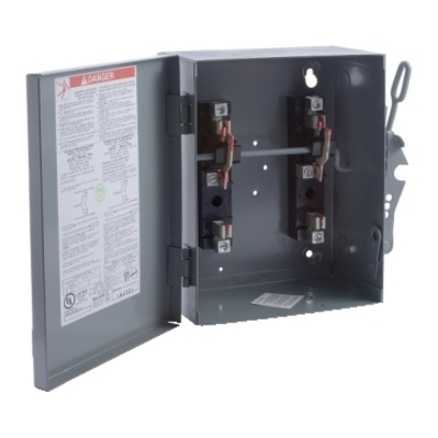 Square D by Schneider Electric 92251 Schneider Electric 92251 Switch Not Fusible Dt 240V 30A 2P NEMA1