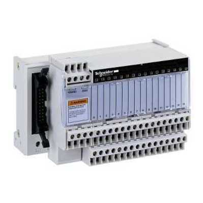 Square D by Schneider Electric ABE7H16R20 ABE7H16R20 SQD passive connection sub-base ABE7 - 16 inputs or outputs