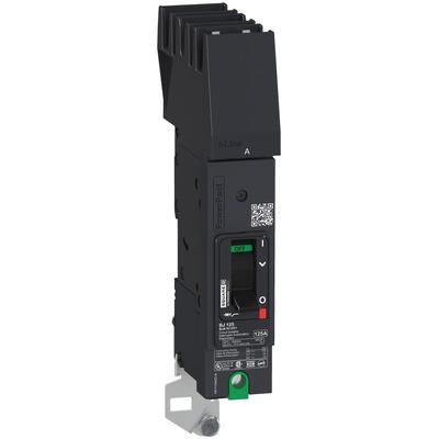 Square D by Schneider Electric BDA161001 BDA161001 SQD PowerPact B Circuit Breaker, 100A, 1P, 347V AC, 14kA at 600Y/347 UL, I-Line