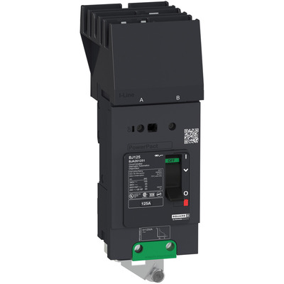 Square D by Schneider Electric BGA260401 BGA260401 SQD PowerPact B Circuit Breaker, 40A, 2P, 600Y/347V AC, 18kA at 600Y/347 UL, I-Line