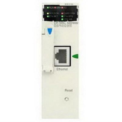 Square D by Schneider Electric BMXNOE0110 Schneider Electric / Square D BMXNOE0110 Factorycast™ M340 Ethernet Module; 1-Port, 16000 KB Internal RAM