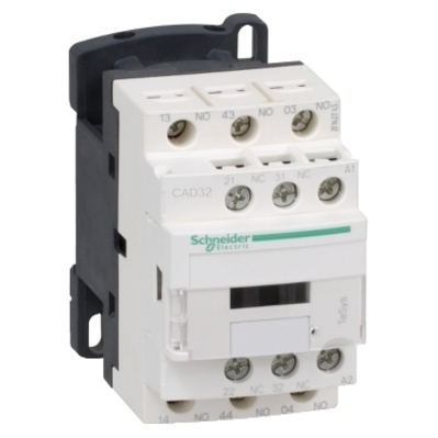 Square D by Schneider Electric CAD32ED Schneider Electric CAD32ED Relay 600V 10AMP Tesys Options