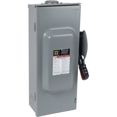 Square D by Schneider Electric H327R H327R SQD Safety switch, heavy duty, fusible, 800A, 3 poles, 250 hp, 240 VAC/250 VDC, NEMA 3R