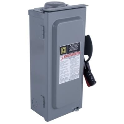 Square D by Schneider Electric H361RB Schneider Electric / Square D H361RB Heavy Duty Safety Switch, Fusible