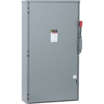 Square D by Schneider Electric H365R Schneider Electric H365R Switch Fusible Hd 600V 400A 3P Nema 3R