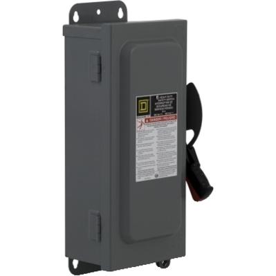 Square D by Schneider Electric HU361A Schneider Electric HU361A Switch Nonfusible Hd 600V 30A 3P NEMA12K