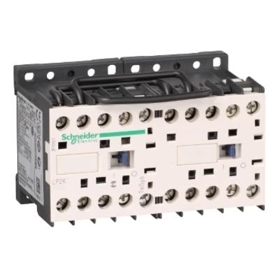 Square D by Schneider Electric LP2K0901BD3 LP2K0901BD3 SQD TeSys K reversing contactor - 3P - AC-3 <= 440 V 9 A - 1 NC - 24 V DC coil