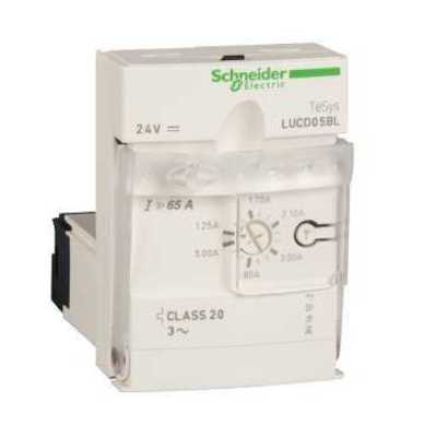 Square D by Schneider Electric LUCD1XBL LUCD1XBL SQD Advanced control unit, TeSys U, 0.35-1.4A, 3P motors, protection & diagnostic, class 20, coil 24V DC