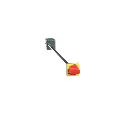 Square D by Schneider Electric LV426936 LV426936 SQD SIDE ROTARY HANDLE, COMPACT NSXM, RED HANDLE ON YELLOW FRONT, SHAFT LENGTH 45 TO 480 MM, IP54