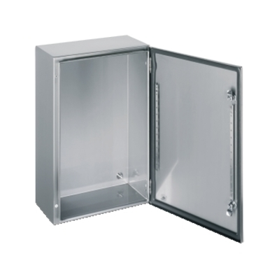 Square D by Schneider Electric NSYS3X6625 NSYS3X6625 SQD SPACIAL S3X stainless 304L, Scotch Brite finish, H600xW600xD250 mm.