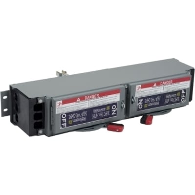 Square D by Schneider Electric QMB321T QMB321T SQD SW,FUSIBLE BRANCH QMB 240V 30A 3P TWIN
