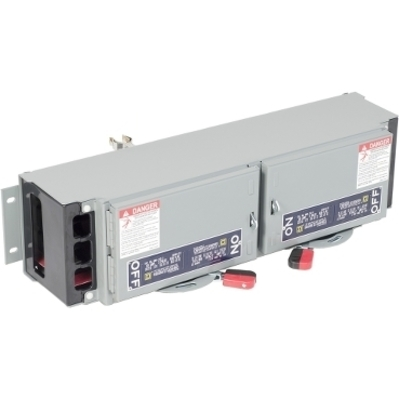 Square D by Schneider Electric QMB362T Schneider Electric QMB362T Switch Fusible Qmb 600V 60A 3P Twin