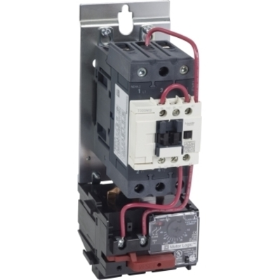 Square D by Schneider Electric T36DN13G7 T36DN13G7 SQD Motor Starter, TeSys NEMA, nonreversing, Size 2, 45A, 3 pole, HP rated, Motor Logic SSOLR, 120 VAC 60 Hz coil, open