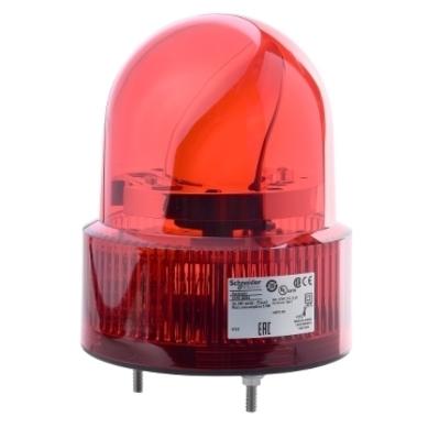 Square D by Schneider Electric XVR12B04S Schneider Electric / Square D XVR12B04S Harmony® Rotating Beacon; 24 Volt AC/DC, 196 Milli-Amp, M5 Screw Mount