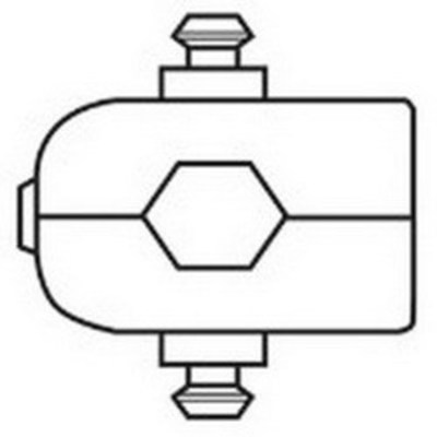 Thomas & Betts (T&B) 4403 Thomas & Betts 4403 Shield-Kon® Interchangeable Single Hex Die; Steel Alloy, Blue