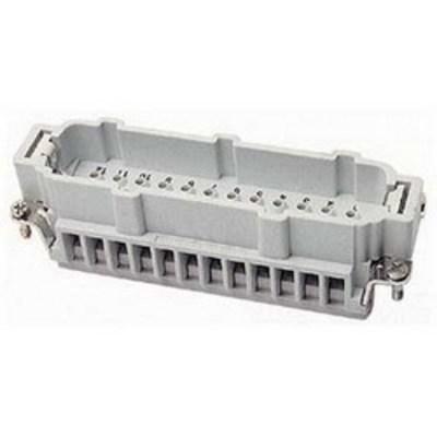 Thomas & Betts (T&B) MS232B Thomas & Betts MS232B Pos-E-Kon™ B Series Standard Size Male Pin Insert; 16 Amp, 600 Volt AC, 32 + Ground Contact
