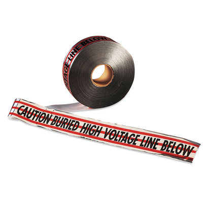 Thomas & Betts (T&B) NAF-0700 Thomas & Betts NAF-0700 E-Z-Code® Detectable UT Electrical Tape; Black On Red