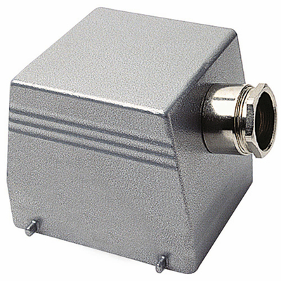 Thomas & Betts (T&B) SH024MV Thomas & Betts SH024MV 1XPG2134 Side Entry Double Lever Locking Post Hood; 20-14 AWG Screw Terminal, Die-Cast Aluminum Alloy, 3/4 Inch NPT Hub