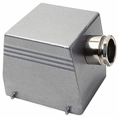 Thomas & Betts (T&B) SH124MV Thomas & Betts SH124MV 1XPG291 Side Entry Double Lever Locking Post Hood; 20-14 AWG Screw Terminal, Die-Cast Aluminum Alloy, 1 Inch NPT Hub